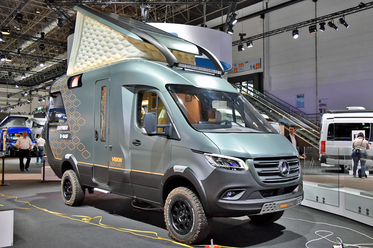 Concept Car von BASF und Hymer