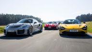 488 Pista, 720S Spider, 911 GT2 RS: Test