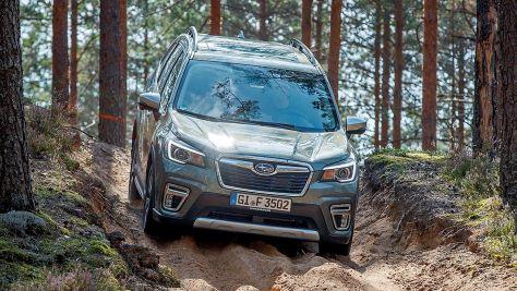 Subaru Forester: E-Motor soll zehn Prozent Sprit sparen