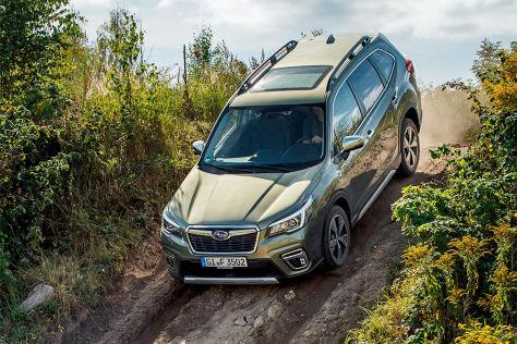 Was kann der neue e-Boxer im Subaru Forester?
