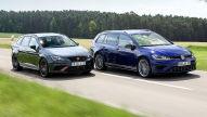 Leon ST Cupra R und Golf R Variant im Test