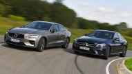 Volvo S60/Mercedes C-Klasse: Test