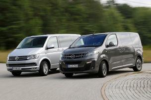 Packt der Opel den Bulli?