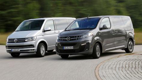 Opel Zafira Life im Test gegen den VW Multivan