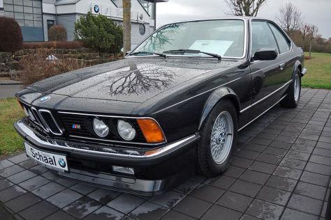 BMW M 635 CSi mit niedriger Laufleistung