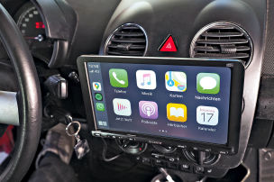 Sony-Radio mit Android Auto / Apple Carplay