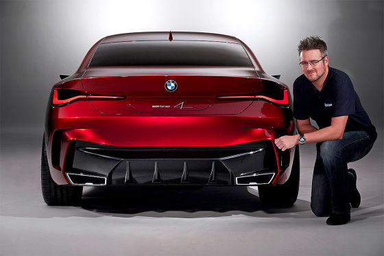 Auch der BMW 4er kriegt riesige Nieren