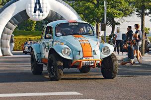 Offroad-Käfer mit Straßenzulassung