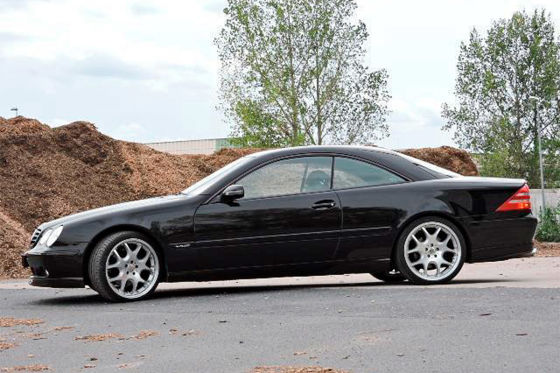 Seltener Mercedes CL600 von Brabus zu verkaufen