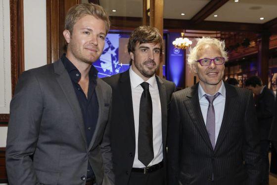 Rosberg, Alonso, Villeneuve