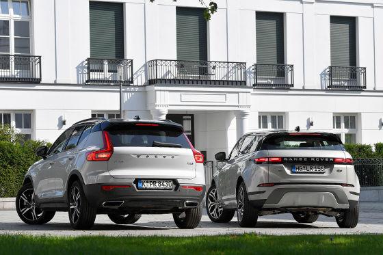 Range Rover Evoque Volvo XC40