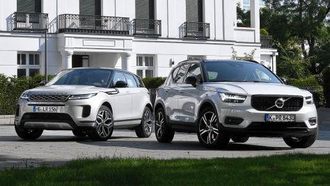 Range Rover Evoque, Volvo XC40: SUVs