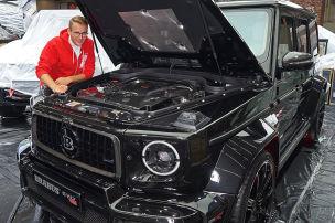Allein der Motor kostet über 300.000 Euro