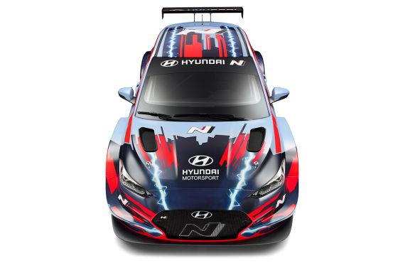 Hyundai präsentiert Veloster N ETCR
