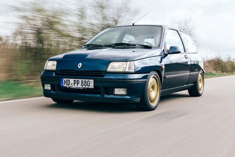 Renault Clio Williams: Klassiker des Tages