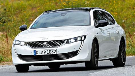 Peugeot 508 SW: Test