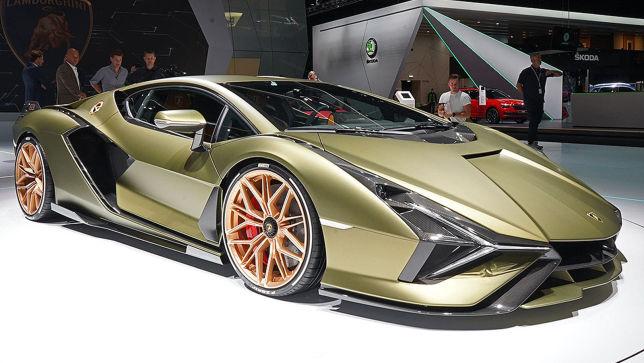 Hybrid-Blitz von Lamborghini