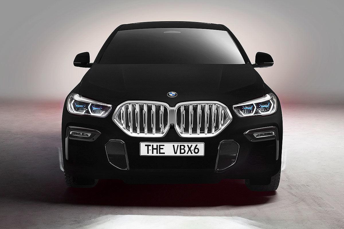 Bilder BMW X6 Vantablack VBX6 (2019)