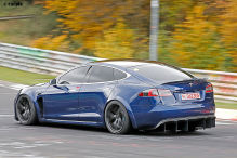 Tesla Model S: Nürburgring