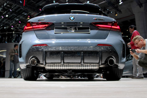 BMW M135i: BMW 1er, Forged Carbon, M Performance Parts