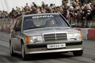 Senna-Sieg im Mercedes 190 E 2.3-16V