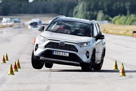 Toyota RAV4 versagt bei Elchtest