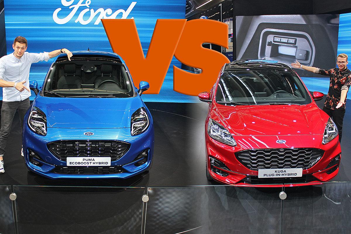 Ford Kuga vs. Ford Puma: SUV-Vergleich
