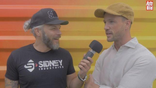 Sidney spricht mit Magic Fox über Autos