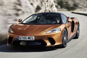 Erste Fahrt im McLaren GT
