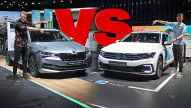 Superb Combi vs. Passat Variant