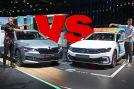 Skoda Superb Combi IV vs VW Passat GTE Variant Aufmacher