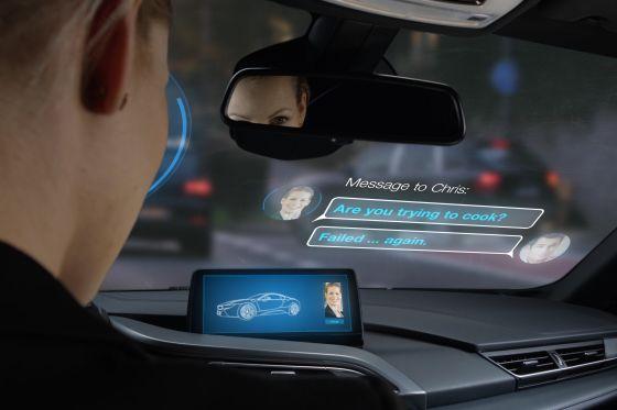 Nachfolger für Touchscreens und Head-up-Displays?