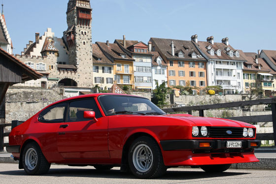 Ford Capri 2.8 Turbo: Klassiker des Tages