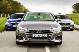 Audi A4, BMW 3er, Volvo S60: Test