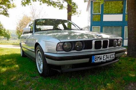 BMW 550i E34 (1992): V12 im 5er!