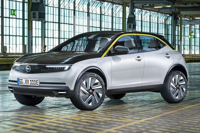 Opel Mokka 2020 Neuvorstellung Skizze Suv Elektro Auto Bild