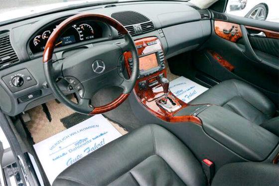 500-PS-Benz zum Schnäppchenpreis?