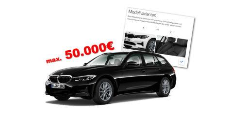 BMW 3er Touring G21 bis 50.000 Euro