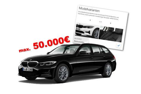 Konfigurator-Tipp: BMW 3er Touring