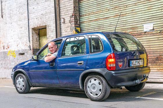 Opel Corsa B 1.7 D: Kilometer-Millionär