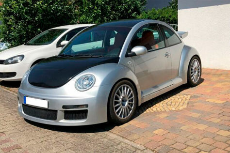 VW New Beetle RSi 3.2 V6 mit HGP-Tuning