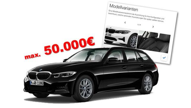 3er Touring für unter 50.000 Euro
