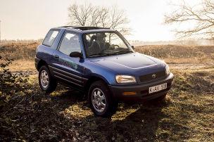 Flinkes SUV der frühen 90er