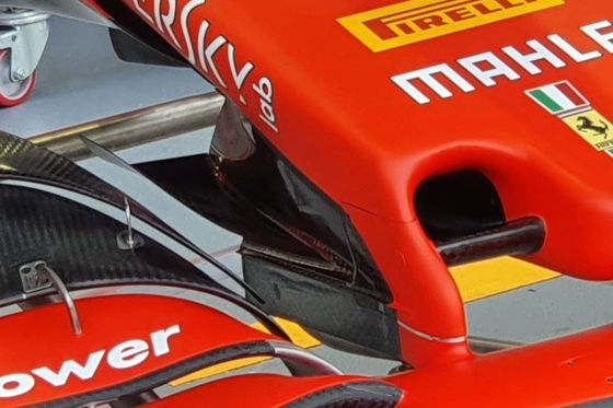 Schneepflug-Nase für Vettel