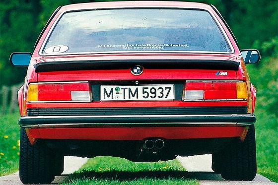 BMW M 635 CSi: Klassiker des Tages