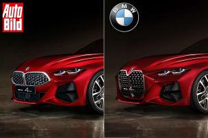 BMW Concept 4: Front mit anderer Niere