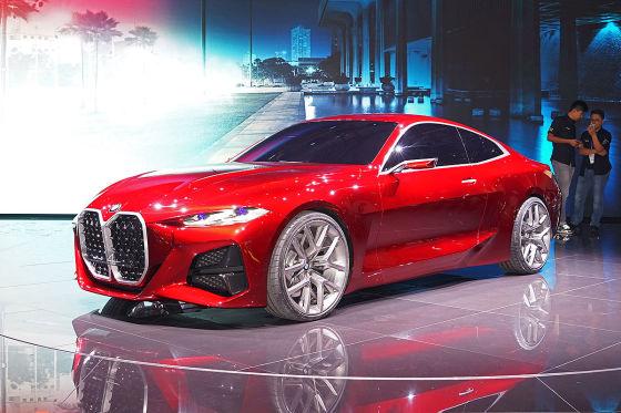 So hätte das BMW Concept 4 aussehen können!