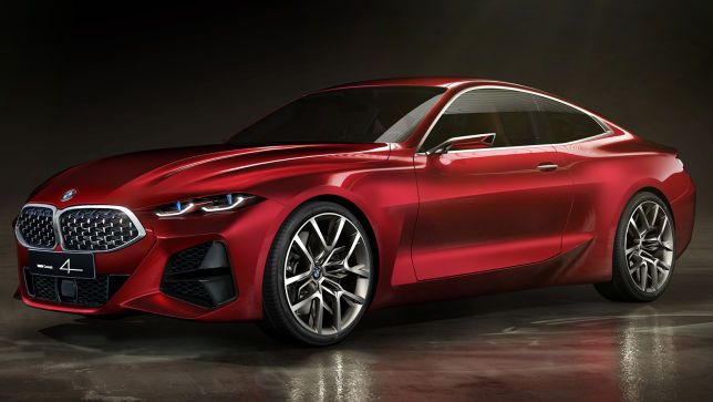 Alternativ-Design des BMW Concept 4