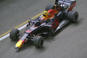 Formel 1: Fotos - Crashs in Singapur