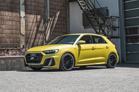 Audi A1 Tuning: Abt Sportsline